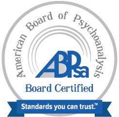American Board of Psychoanalysis Board Certified